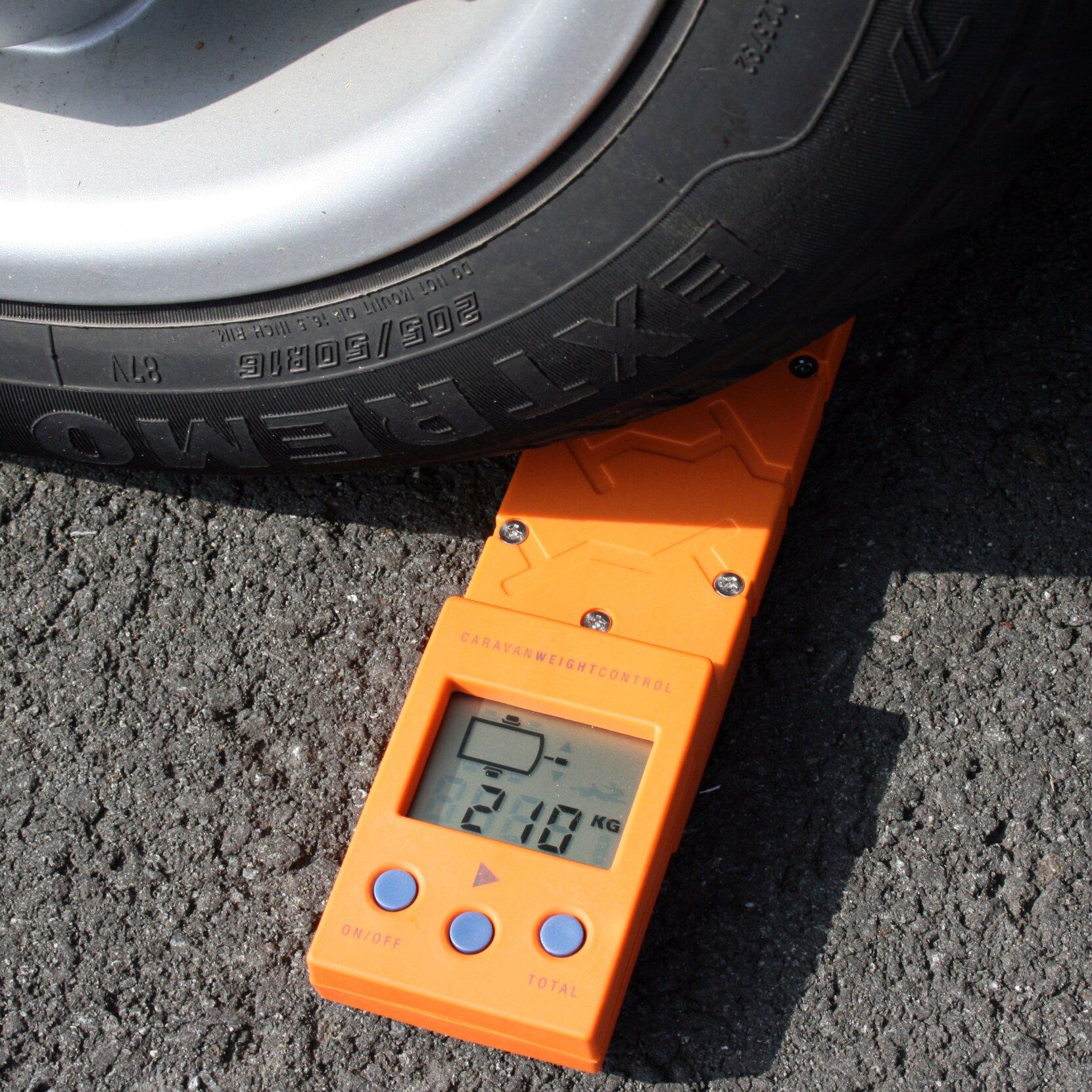 Fahrzeugwaage zur Kontrolle des Gesamtgewichts