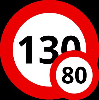 Auf den Autobahnen Sloweniens sind unter 3,5 Tonnen Gesamtgewicht 130 km/h, darüber nur 80 km/h mit Deinem Wohnwagen erlaubt.