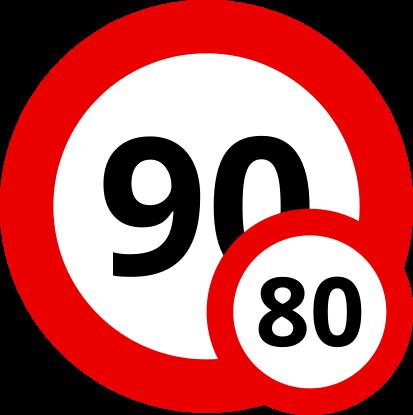 Auf den Landstraßen Sloweniens sind unter 3,5 Tonnen Gesamtgewicht 90 km/h, darüber nur 80 km/h mit Deinem Wohnwagen erlaubt.