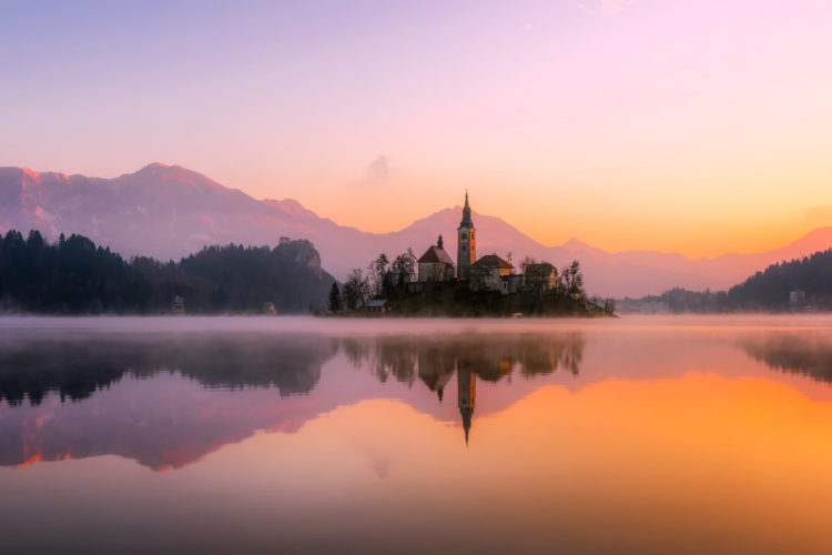 Slowenien, Bled See