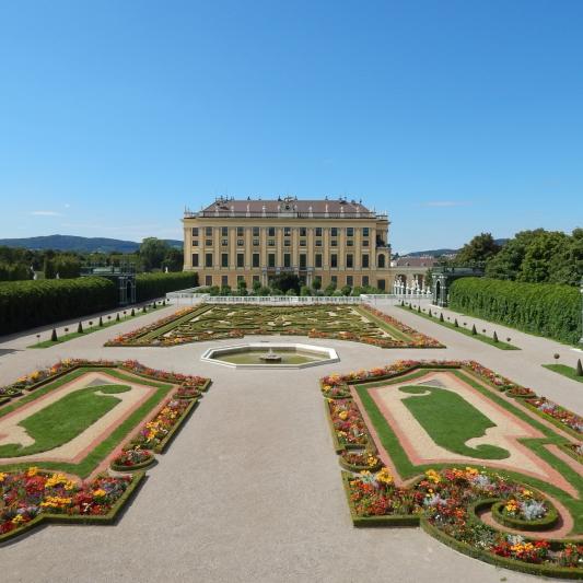 Schloss Schönbrunn in Wien, der Hauptstadt Österreichs